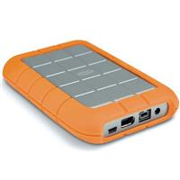 301371 LaCie Rugged All-Terrain, 500 GB Pocket Hard Drive with Fire Wire 800, Fire Wire 400 and USB 2.0 Interface, 5400rpm, for Macintosh & Windows. :  photography tech rugged hard drive