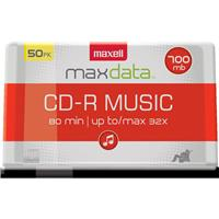 Maxell CD-R 80  80 Minute CDR 50 Spindle Pack