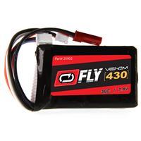 VENOM Fly 30C 2S 430mAh 7.4V LiPo Battery with JST and E-...