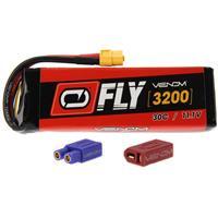 VENOM Fly 30C 3S 3200mAh 11.1V LiPo Battery with UNI 2.0 ...