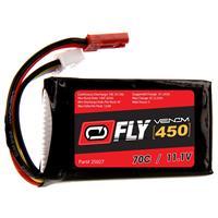 VENOM Fly 70C 3S 450mAh 11.1V LiPo Battery with JST Plug