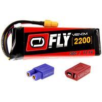 VENOM Fly 30C 3S 2200mAh 11.1V LiPo Battery with UNI 2.0 ...