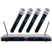 VocoPro VHF-4005 4 Channel Rechargeable VHF Wireless Micr...