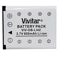 Replacement Rechargeable Lithium Battery for Olympus LI-42B