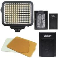 Vivitar VL-180 LED Light Panel for Camera/Camcorder