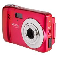 "Vivitar VXX14 20MP Digital Camera, 1.8"" LCD Rear Screen, Red"