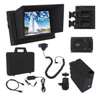"Varizoom VZ-M7 7"" On-Camera Monitor Deluxe Kit with Sunho..."