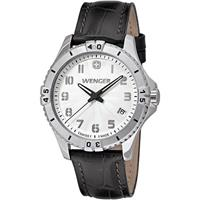 Wenger Squadron Lady Small Swiss Quartz Watch, Leather St...