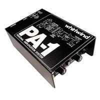Whirlwind PA-1 Personal Headphone Monitor, Stereo/Mono Se...