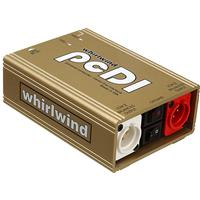 "Whirlwind pcDI Stereo Direct Box with RCA and 1/8"" Mini U..."