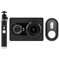 16MP Action Camera with Selfie Stick and Bluetooth Remote...