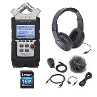 H4n Pro Handy Mobile 4-Track Recorder - Bundle With 16GB ...