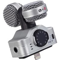 ZOOM iQ7 Mid-Side Stereo Microphone for iPhone, iPad, iPo...