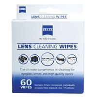 Lens Wipes, 60 Pack