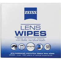 Carl Zeiss Optical Lens Wipe with Pouch, 20 Pack