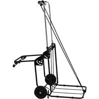 CLIPPER 94E Folding Equipment Cart, 250 lbs Capacity, 4 W...