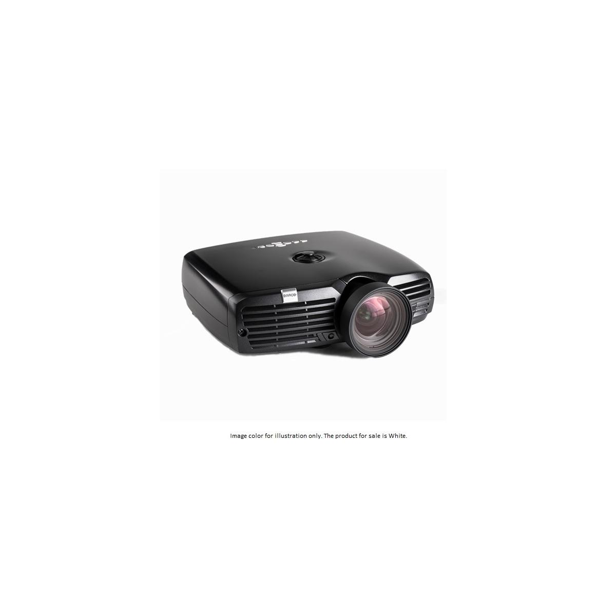F22 1080p Single-Chip DLP Projector with High Brightness MkIII Color Wheel and Wide Angle EN17 Lens, 1920x1080, Up to 3300 Lumens, White
