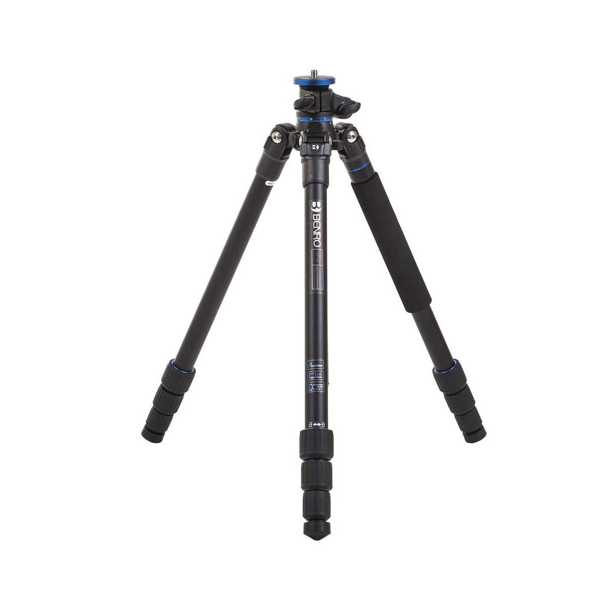 The Benro Go Plus FGP18A 4-Section Aluminum Travel Tripod travel product recommended by Vince Griff on Lifney.