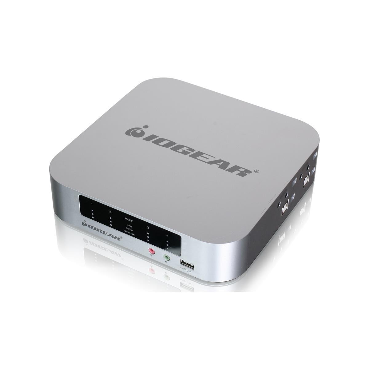 IOGEAR 4-port DualView KVMP Switch
