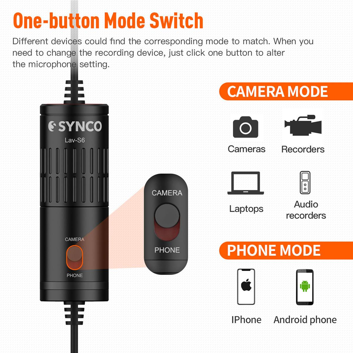 Synco Audio LAV-S6P: Picture 6