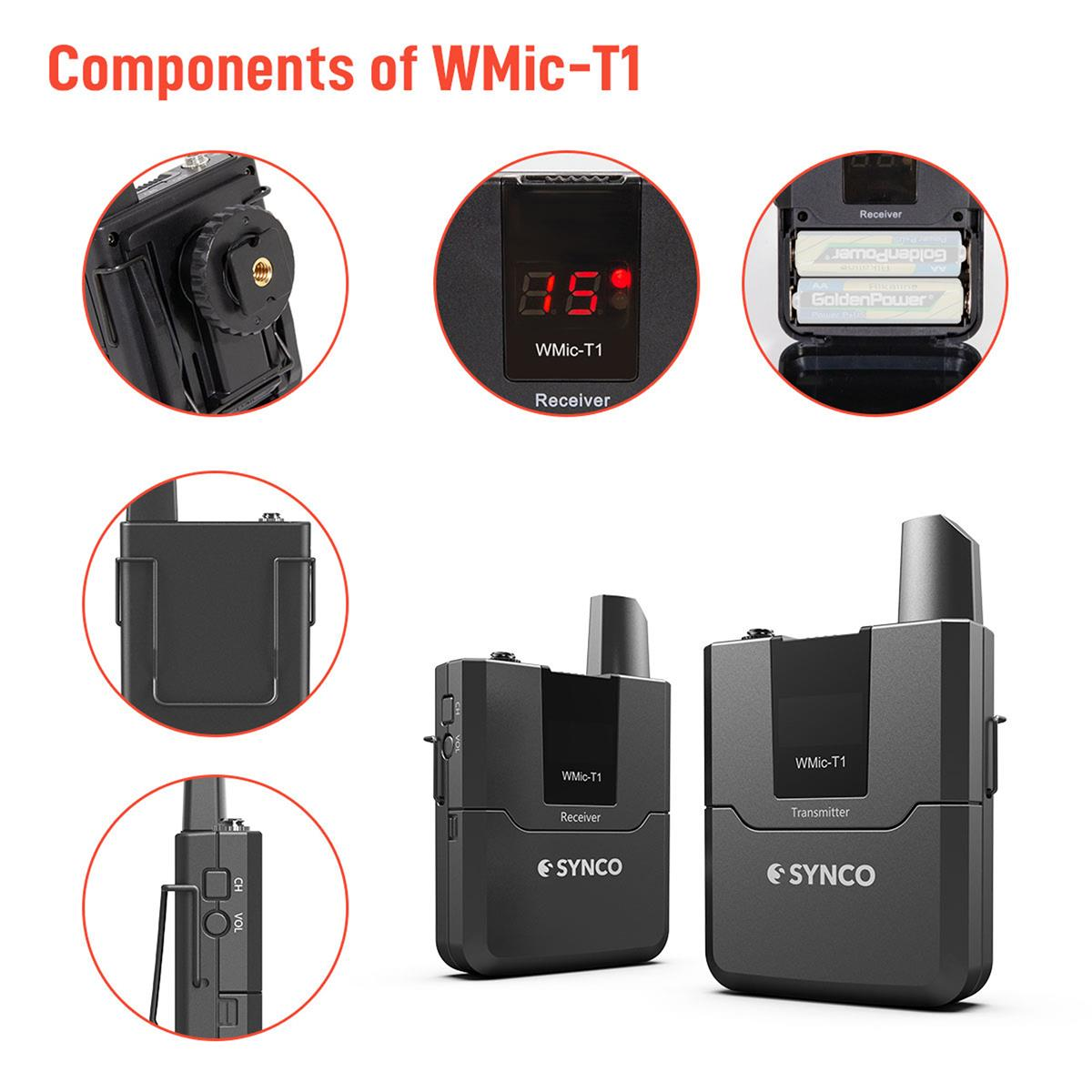 Synco Audio WMic-T1: Picture 13