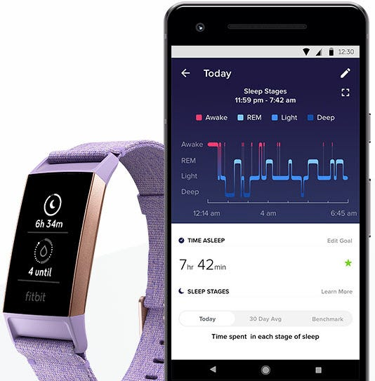 how to get more deep sleep fitbit