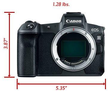 Canon EOS R Mirrorless Full Frame Digital Camera Body - Black
