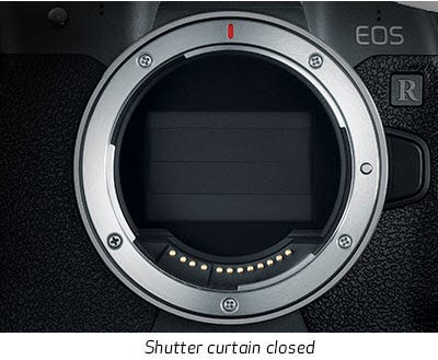 Shutter Closes if Powered Off without Lens