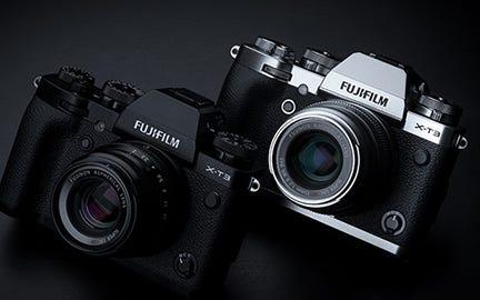 Fujifilm X-T3 Mirrorless Camera Body, Black