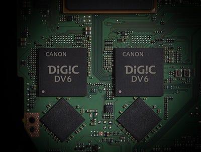 Dual DIGIC DV 6 Image Processors