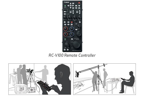 RC-V100 Remote Controller Support