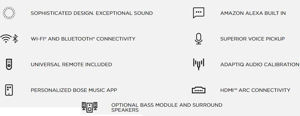 Bose Soundbar 700, Black