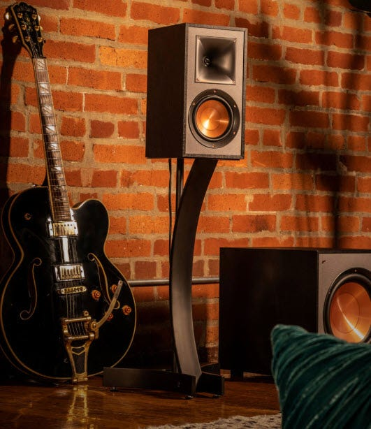 Klipsch R-41M Bookshelf Home Speakers (Pair)