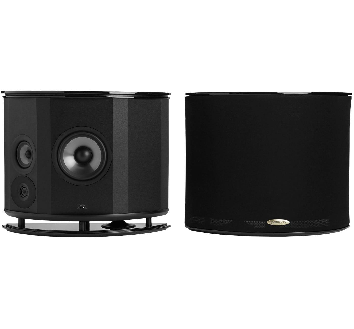 Polk Audio LSiM 702 F/X Surround Speakers, Black Gloss,Pair