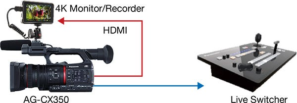 Parallel Output of SDI and HDMI