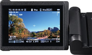 Simultaneous Display on High-Brightness, High-Definition LCD and High-Resolution OLED EVF