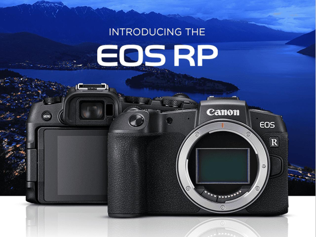 Canon Eos Rp Full Frame Rf Mount Mirrorless Camera Adorama