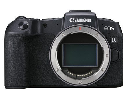 Canon EOS RP Mirrorless Full Frame Digital Camera with Canon RF 24-105mm F4  L IS Lens