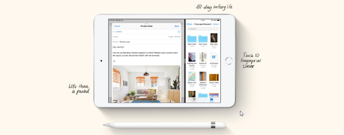 Apple iPad Mini Wi-Fi Plus Cellular 256GB, Gold, (2019)