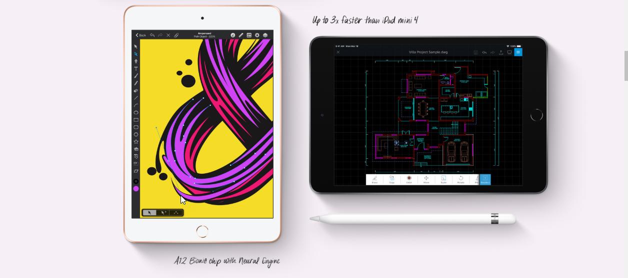 Apple iPad Mini Wi-Fi 256GB, Gold, (2019)