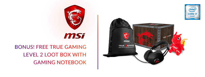 prix beau New York MSI: Become the True Gamer - Free Level 2 Loot Box | Adorama