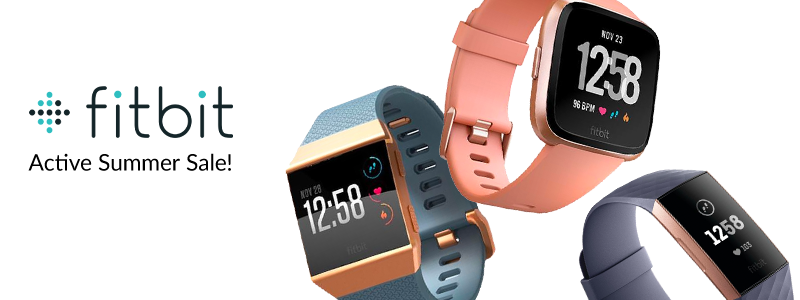 Fitbit Summer Sale - Save on Activity Smartwatches | Adorama