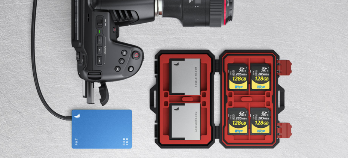 Use Standard SD Cards, UHS‑II or CFast 2.0 Media!