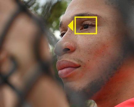 Eye-catching AF.