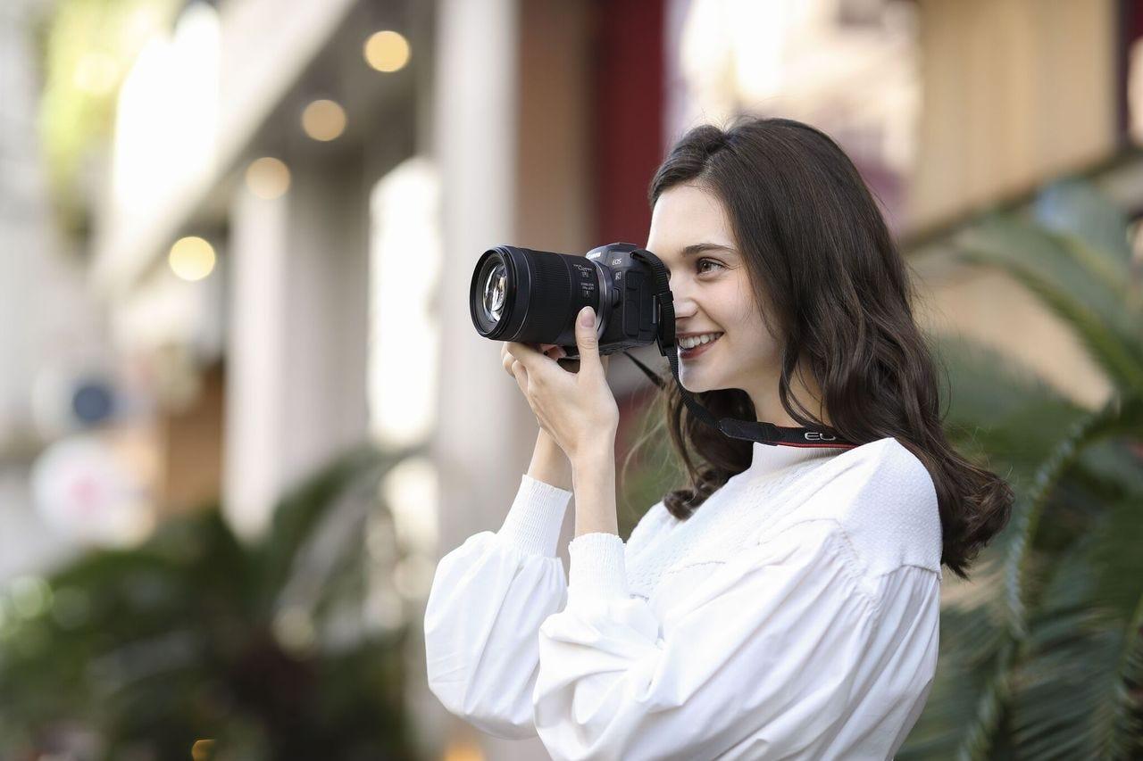 Lightest, Smallest Full-frame EOS Camera.