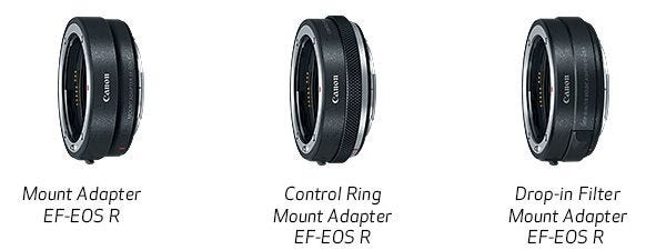 Variety of Mount Adapter Options for Expanded Compatibility with EF/EF-S Lenses.