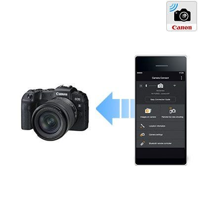 Built In Wifi & Bluetooth Camera Connect.