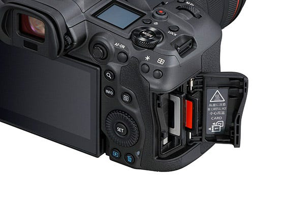 Dual Card Slots For CFexpress & UHS-II SD Memory Cards Memory Cards.