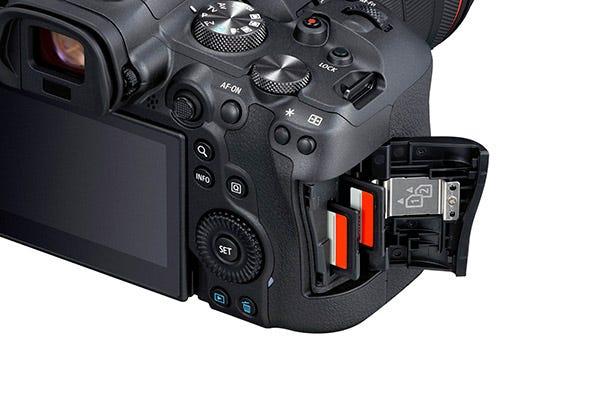 Dual UHS-II SD Memory Card Slots.
