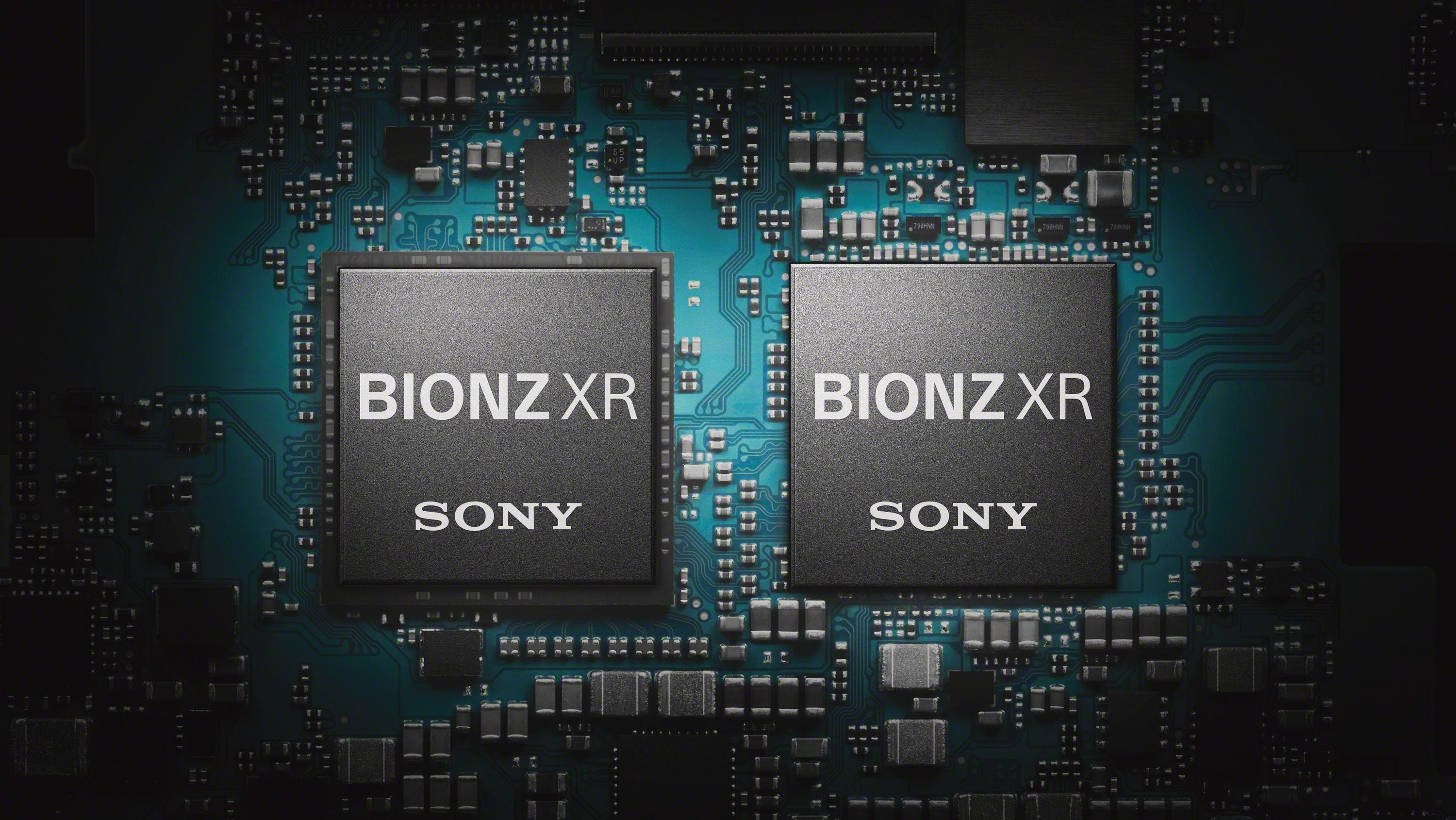 8x More Powerful, Next Generation BIONZ XR Image Processing Engine.